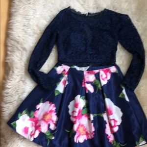 2 piece skirt and top